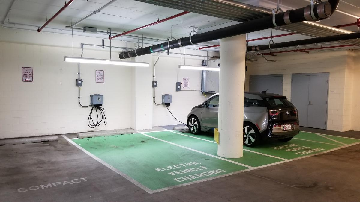 Electric Vehicle (EV) Charging Station